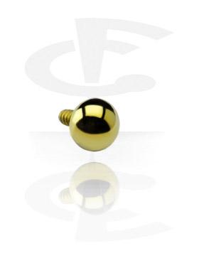 Palline e Accessori, Ball per Internally Threaded Pin, Titanio
