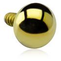 Boules et Accessoires, Ball pour Internally Threaded Pin, Titane