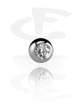 Balls & Replacement Ends, Jewelled Ball, Titanium
