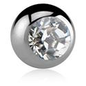 Kulki i inne zakończenia, Jeweled Micro Ball, Titanium