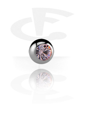 Шарик с кристаллом