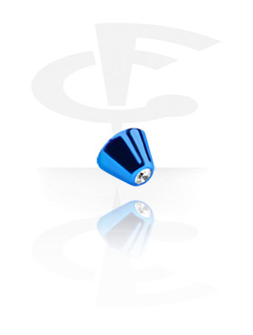 Boules et Accessoires, Jeweled Micro Cone, Titane