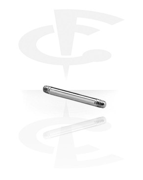 Balls & Replacement Ends, Barbell Pin, Titanium