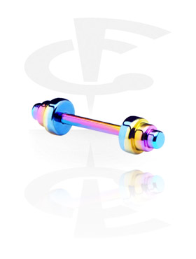 Barbellit, Barbell with Dums, Titanium
