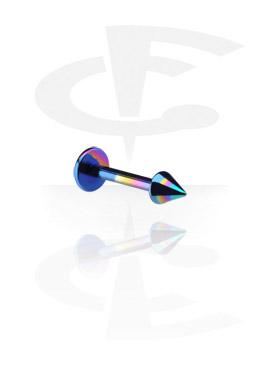 Labrets, Labret de 1.2 mm avec cône, Titane