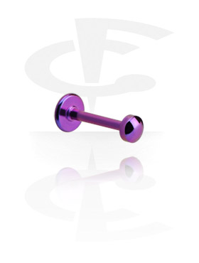 Labrets, Labret with Domed Disc, Titanium