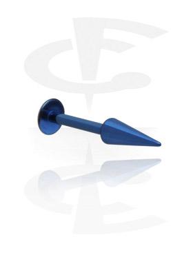 Labretit, Micro Labret with Long Cone, Titanium