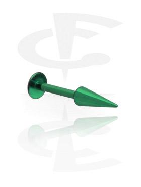 Labrets, Micro Labret avec Long Cone, Titane