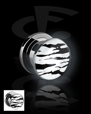 LED Plug met tijgerprint
