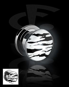 LED plug avec imprimé de tigre