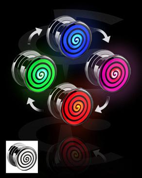 LED Plug com padrão