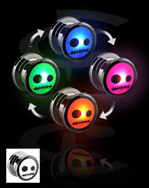 LED Plug mit Muster