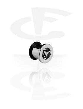 Tunnels & Plugs, Tunnel, Surgical Steel 316L