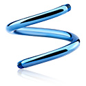 Ballen & Accessoires, Spiral Pin, Titanium