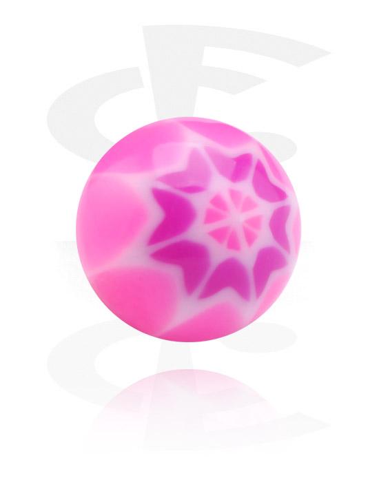 Boules, barres & plus, Boule, Acrylique