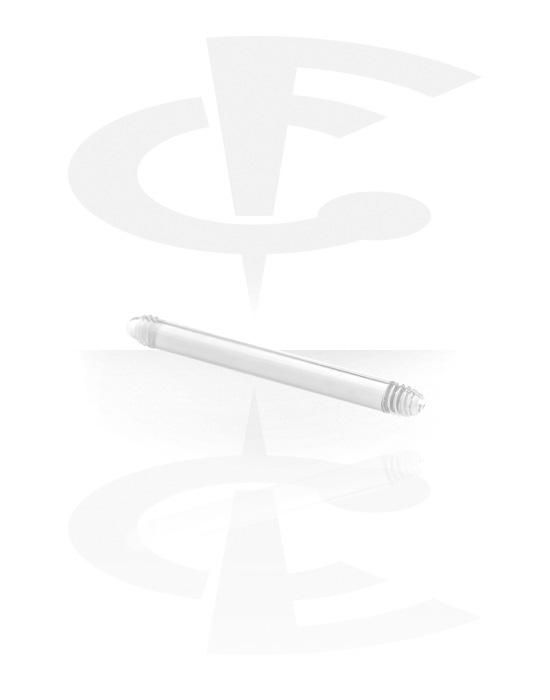 Kuličky, kolíčky a další, Flexible Barbell Pin, Acryl