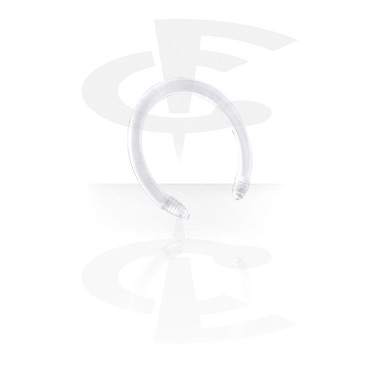 Kuglice i zamjenski nastavci, Flexible Circular Barbell Pin, Acryl
