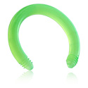 Kuličky a náhradní koncovky, Flexible Circular Barbell Pin, Acryl
