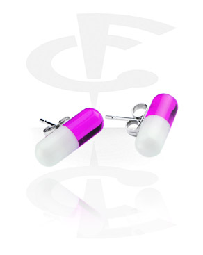 UV Capsule Studs