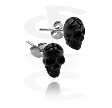 Ear Studs with Skull