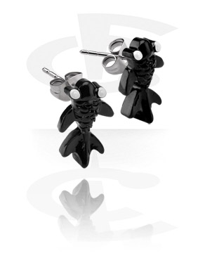 Ear Studs with Fish