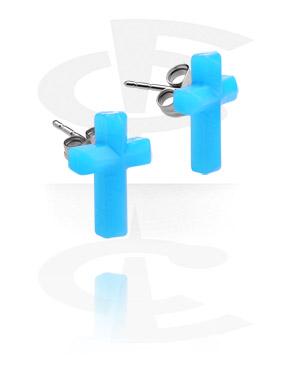 Ohrstecker mit Kreuz