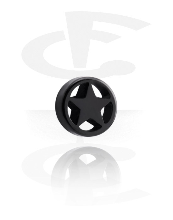 Balls, Pins & More, Attachment with Star Design, Acrylic