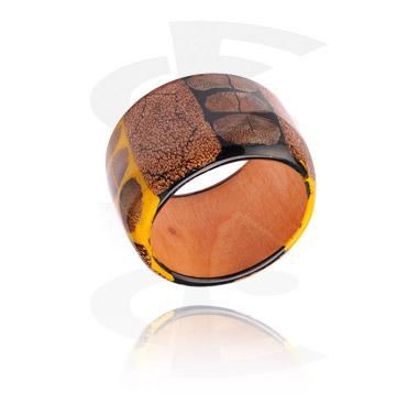 Bracelets, Fashion Bangle, Mixed Wood