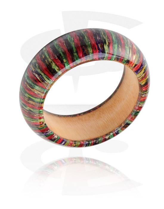 Armbånd, Fashion Bangle, Wood