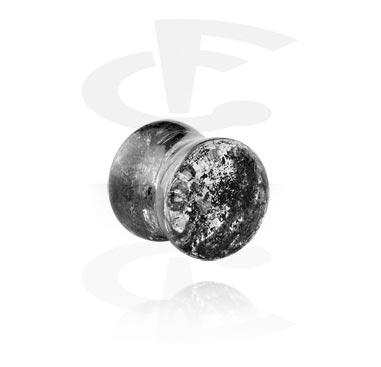 Tunnels & Plugs, Double Flared Plug, Acryl