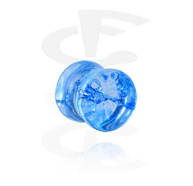 Tunnels & Plugs, Double Flared Plug, Acryl