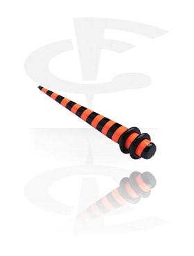 Stripy Stretching Taper