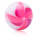 Ballen & Accessoires, Twister Flower-balletje, Acryl