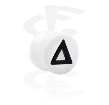 Flared Plug with Triangle Cut-Out