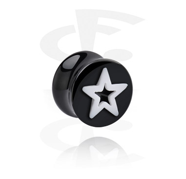 Flared Plug with Star Cut-Out