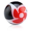 Ballen & Accessoires, New Twister Flower Ball, Acryl