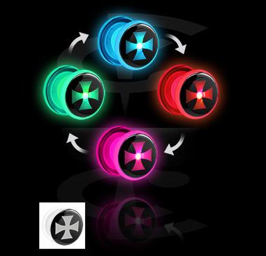LED-plugi, jossa kuvio