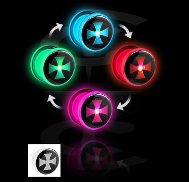 Tunely & plugy, LED Plug with Pattern, Acrylic