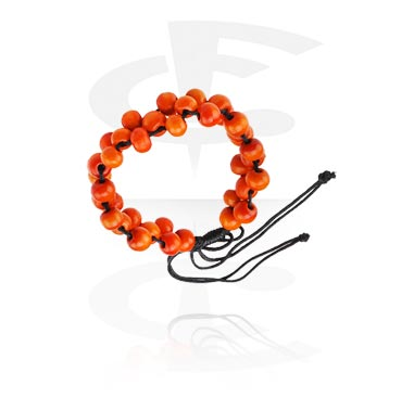 Bracelets, Bracelet tendance, Different types of Wood, Fil nylon