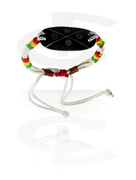 Bracelets, Bracelet, Wax Cord