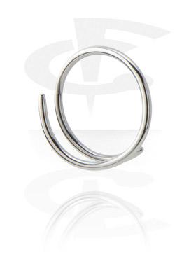 Venyttimet, Wire Piercing - Fish Hook, Surgical Steel 316L