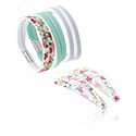 Doplňky do vlasů, Hair Accessories Set, Elastic Band, Metal