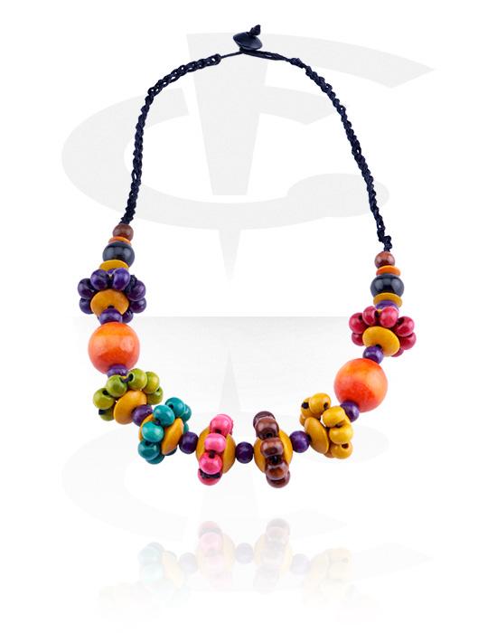 Náhrdelníky, Fashion Necklace, Dřevo