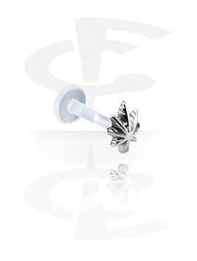 Labret, Internal Labret con Steel Cast Attachment, Bioflex