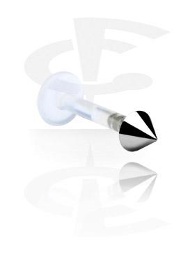 Internal Labret met Titanium Cone