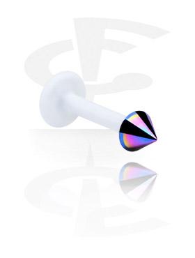 Labret, Internal Labret con Titanio Cone, Bioflex