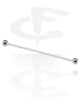 Barbell with Titanium Balls