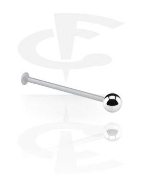 Labret, Micro Labret con Steel Ball, Bioflex