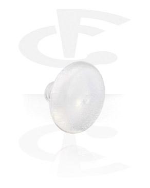 Disco redondo para barras com rosca interna