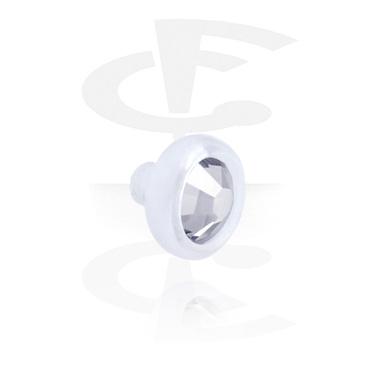 Flat Disc voor staafjes met interne schroefdraad